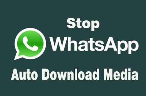 Stop WhatsApp Auto Download