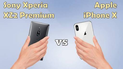 iPhone X vs Sony Xperia XZ2 Premium