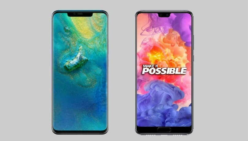Huawei Mate 20 Pro Vs Huawei P20 Pro  What Is The Big Deal