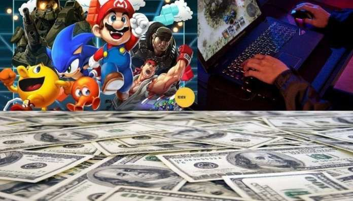 Play Game and make money online