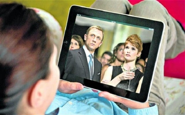 streaming video on Tablet device