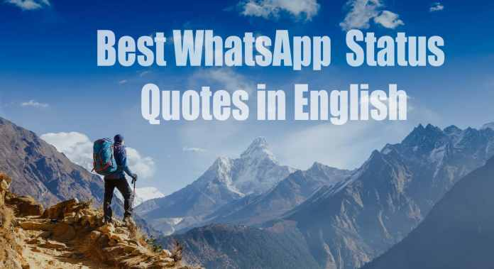 Best WhatsApp Status in English on Love Motivation Cool and Sad 2019