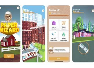 warren buffets paper wizard game launched on app store