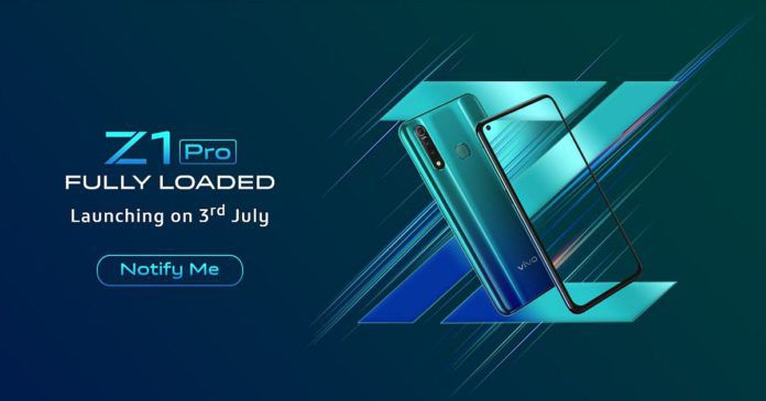 Vivo Z1 Pro India Launch Date July 3 696x365
