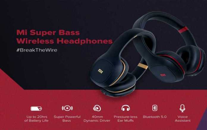 Xiaomi Has Launched Its MI Super Bass Wireless Headphones in India
