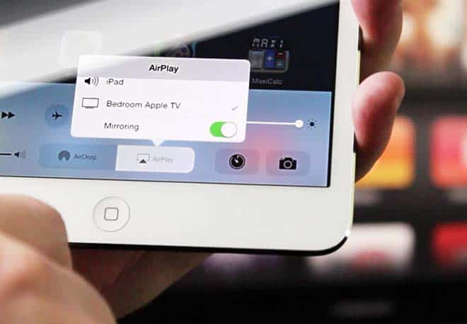 connect iPad or iPhone to TV