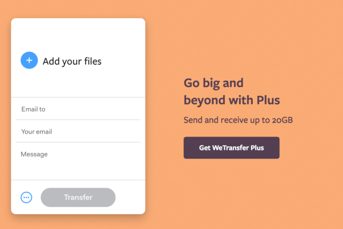 What is WeTransfer what is it for and how does it work