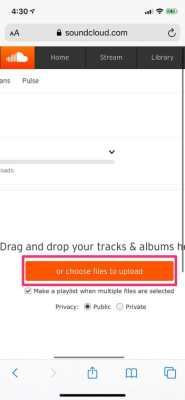 Upload Audio Content To SoundCloud
