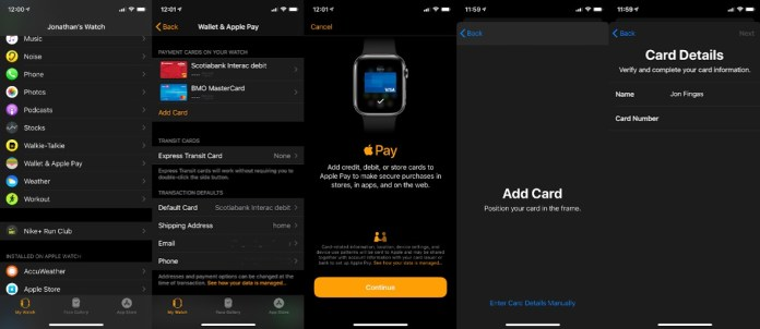 Use Apple Pay On Apple Watch