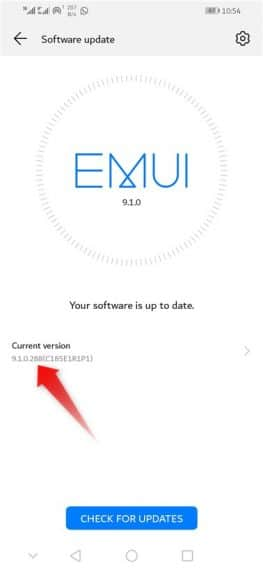 Enable Smart Charge Huawei Device