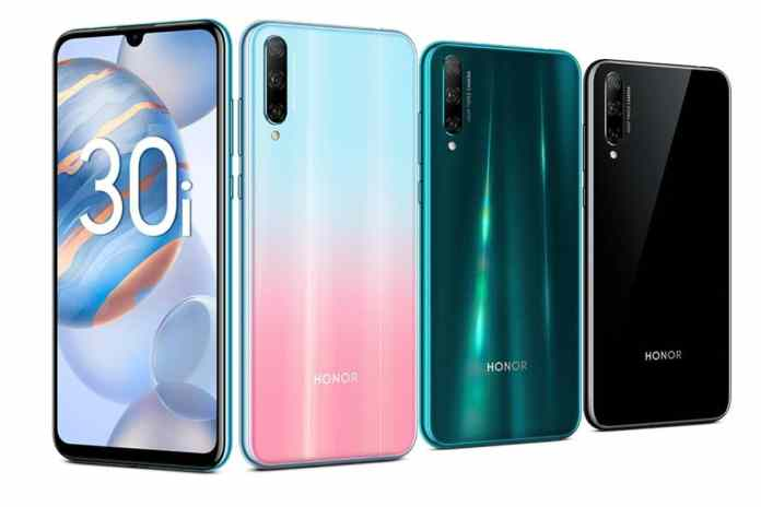 Honor 30i All Colors