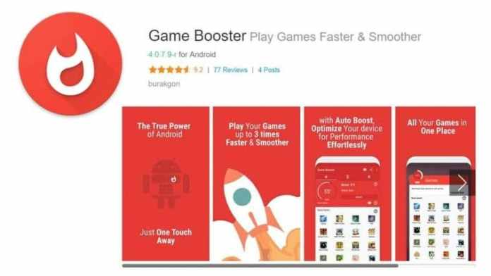 Game Booster Play Games Faster & Smoother