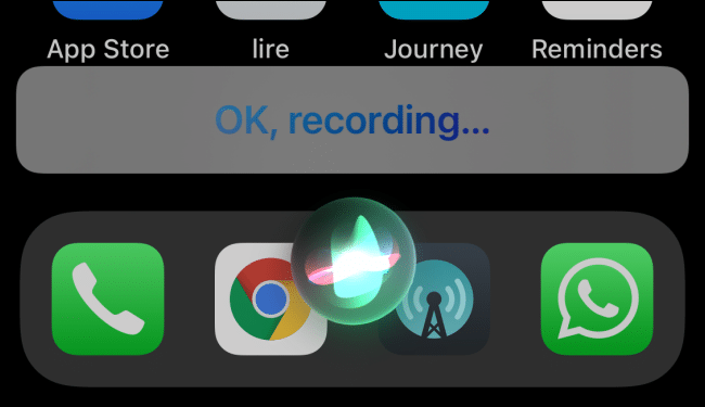 Send Voice Messages Siri iPhone