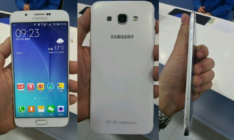 """Samsung Slimmest Smartphone """"Galaxy A8""""  now Available in Nepali Market"""