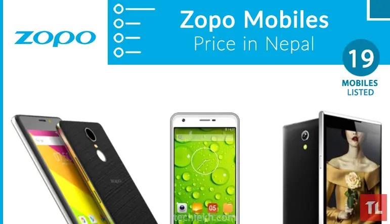 zopo mobile price in nepal