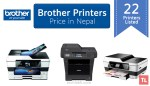 Brother Printer Price in Nepal