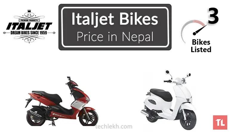 Italjet bikes price in Nepal