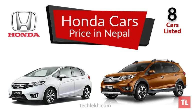 Honda Car Price In Nepal