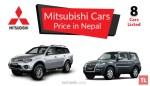 mitsubishi car price in nepal