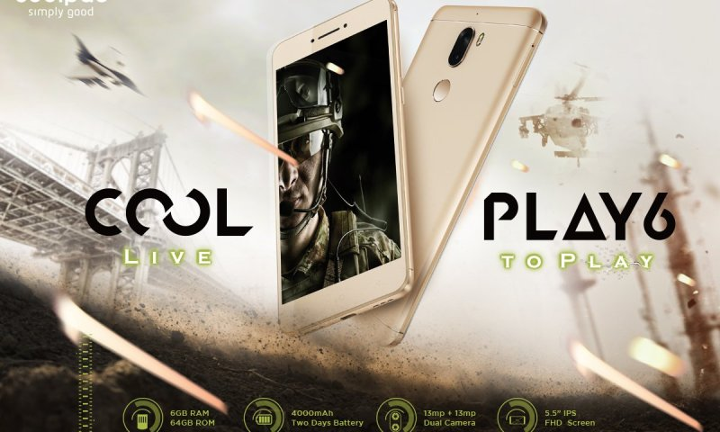 Coolpad Cool Play 6 with 6GB RAM to Release Soon in Nepal