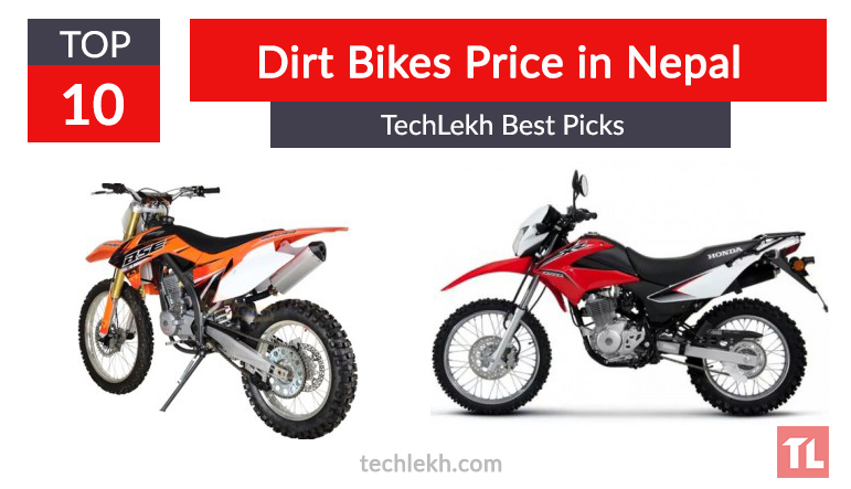 Top 10 Best Dirt Bikes in Nepal | 2017