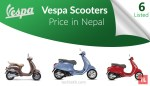 vespa scooter price in nepal