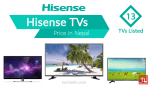hisense tv price in nepal