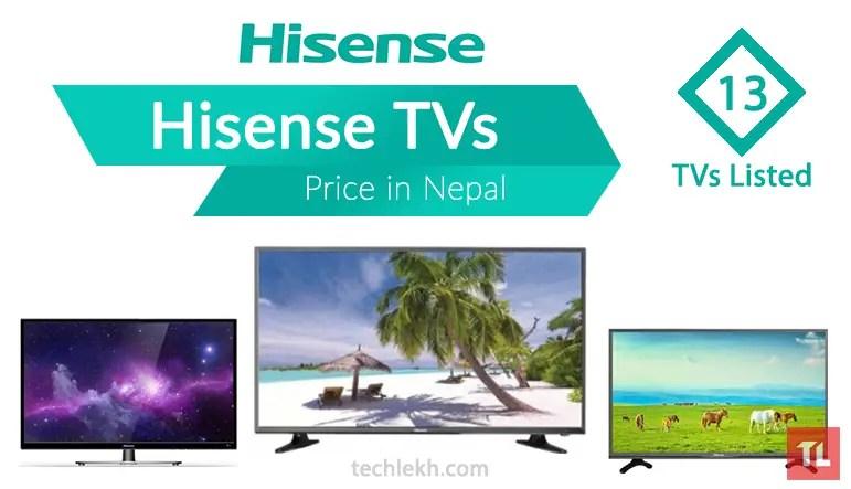 hisense tv price in nepal