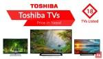 toshiba tv price in nepal