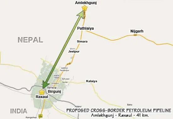 Cost of Building Amlekhgunj-Raxaul-Motihari Oil Pipeline Soars