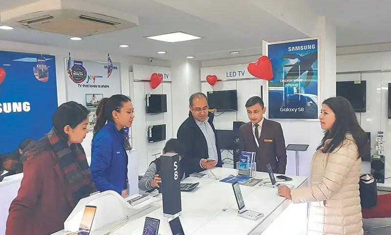 Samsung Mobile Exchange Carnival Inside Kathmandu Valley