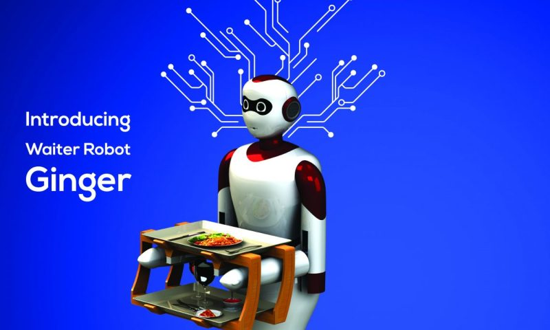 Paaila Technology to Launch Waiter Robot Ginger