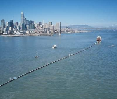 The Ocean Cleanup System 001