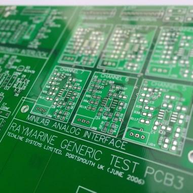 Raymarine Generic Test Board PCB Design