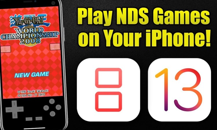 How to Play NDS Games on iPhone 11 Pro using iNDS