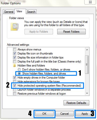 How To Remove $RECYCLE.BIN,System Volume Information and desktop.ini Files From Your PC/Laptop