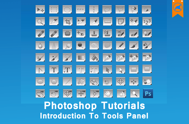 Photoshop Beginners Guide 4→Introduction To Tools Panel [Part 2]