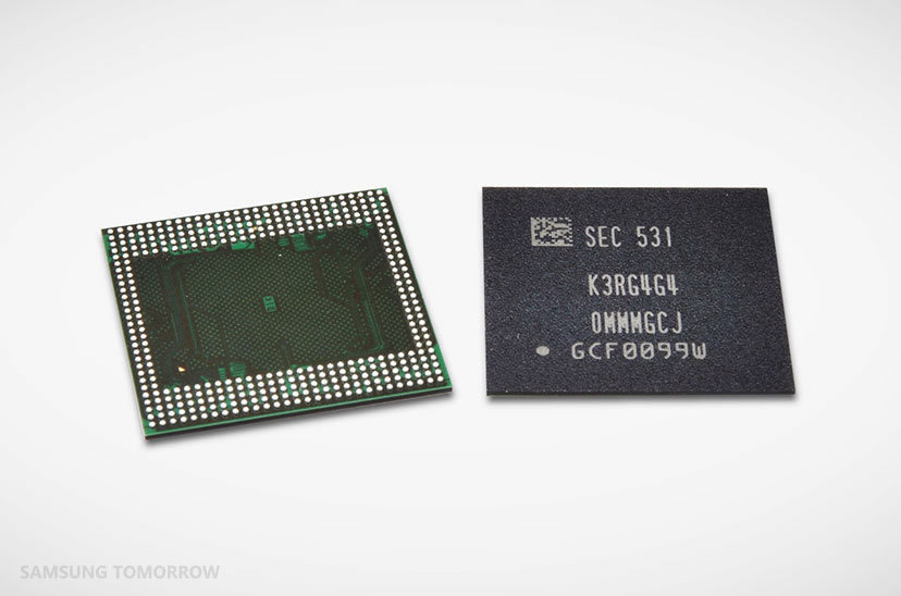 Samsung Going To Power Next Generation Smartphones With 6GB RAM Chips