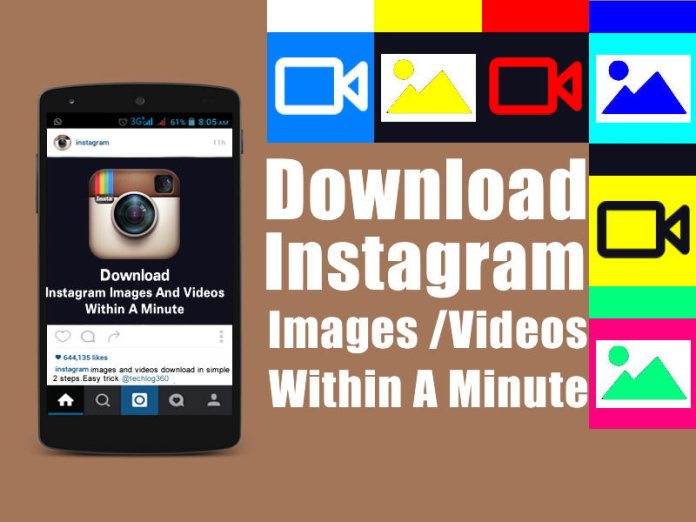 download instagram images and videos [TechLog360.com]