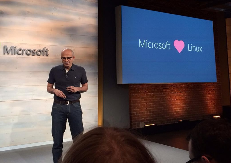 Microsoft Loves Linux : Microsoft Developed A Linux-Based Operating System