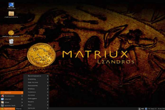 Favourite Operating Systems Of Hackers - Matriux Linux