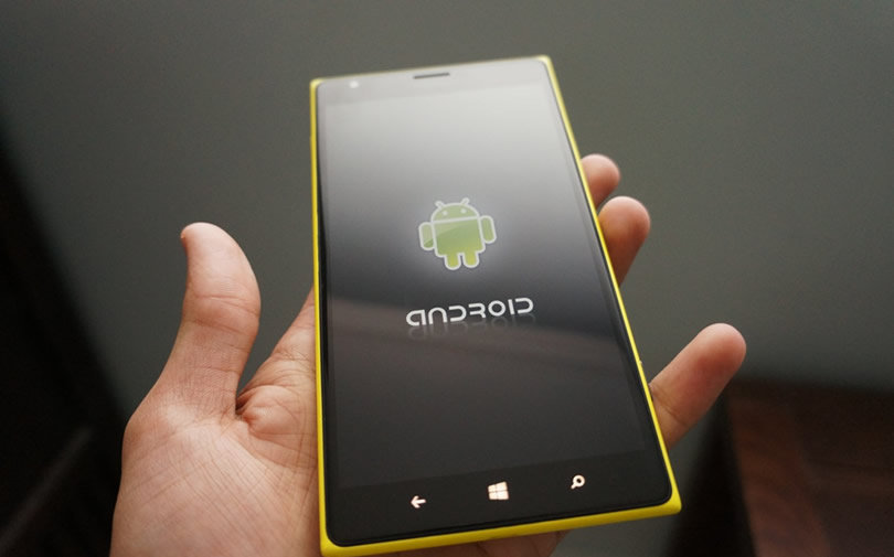 android to run on windows 10 mobile