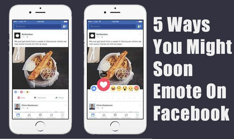 Facebook Being Testing 'Sad' , 'Angry' And Four Other Types Of Buttons To Express Your Emotions