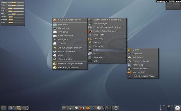 kali linux operating system