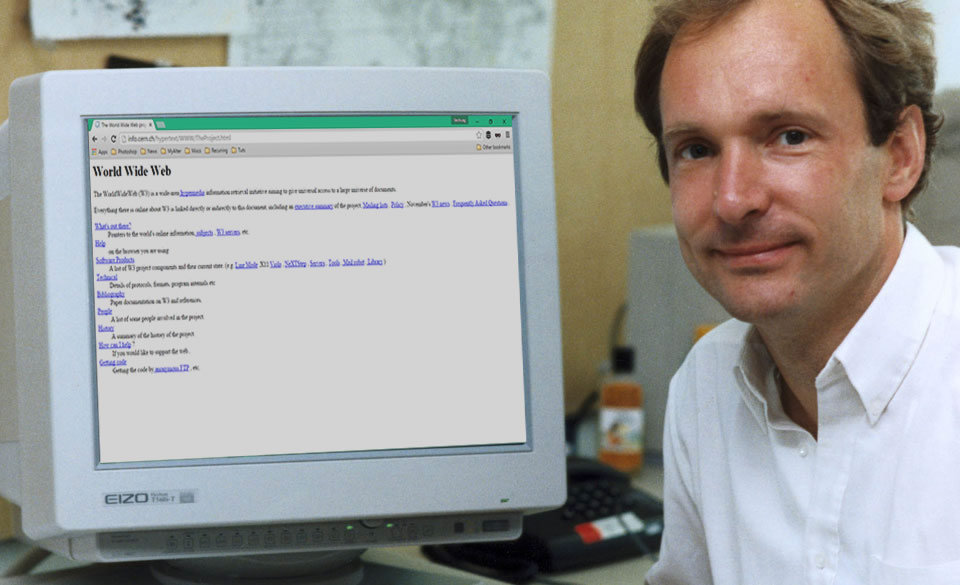 Say Happy Birthday to World's First Website, it's now 25 years old