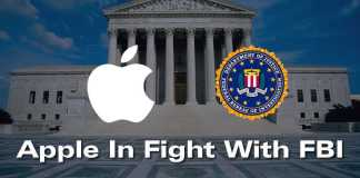 Apple In Fight With FBI