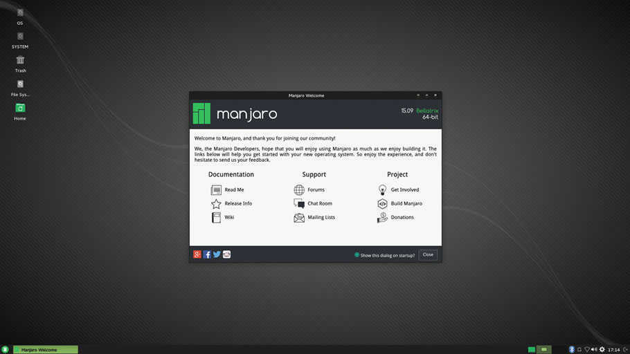 Manjaro-Linux distro for beginners