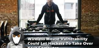 wireless mouse vulnerability