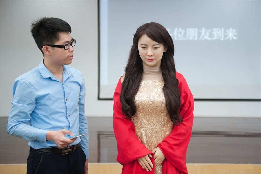 Realistic Robot - Jia Jia