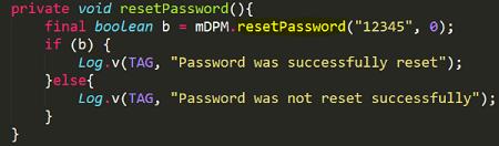 Android.Lockdroid.E variants set or reset the lockscreen password